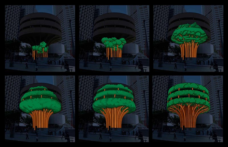 Urban Tree CTA Building